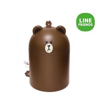 LINE FRIENDS 布朗熊垃圾桶