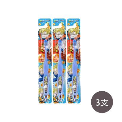 日本 Lion 狮王卡通儿童软毛牙刷6~12岁3支装