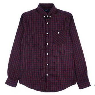 jogunshop JG1004/优雅双线格子衬衫