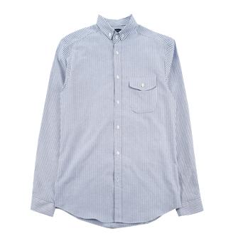 jogunshop JG976/牛津日常条纹衬衫