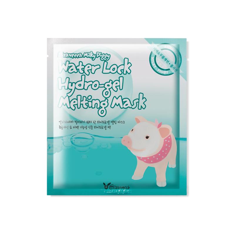 韩国 Elizavecca 小青猪胶原蛋白吸溶凝胶强保湿水溶面膜贴5片/盒