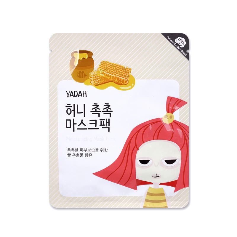 韩国 YADAH 蜂蜜保湿面膜25g/片