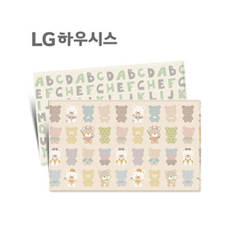 LG hausys 领袖高级超大型地板垫 小熊贝贝图案(230*140*1.5cm)