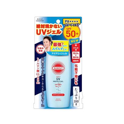日本 Kose 高丝SUNCUT水润隔离防晒啫喱SPF50+/PA+++ 100g/瓶