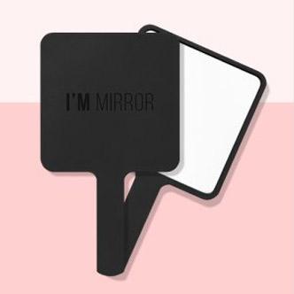 I'M MEME #T901 黑色方形镜子