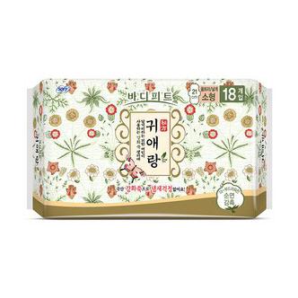 LG 贵爱娘 中草药卫生巾小型 21cm 18P