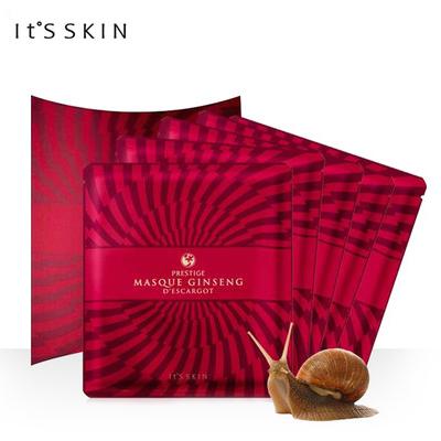 韩国 It's skin 伊思红参蜗牛面膜5片/盒