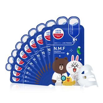 美迪惠尔(可莱丝) NMF水润保湿面膜 10片/盒