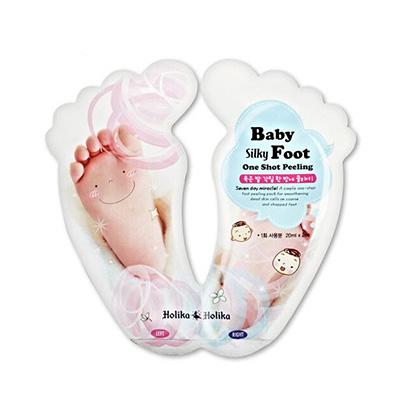 韩国 Holika Holika 惑丽客婴儿丝滑嫩肤去角质脚膜(20ml*2)/盒