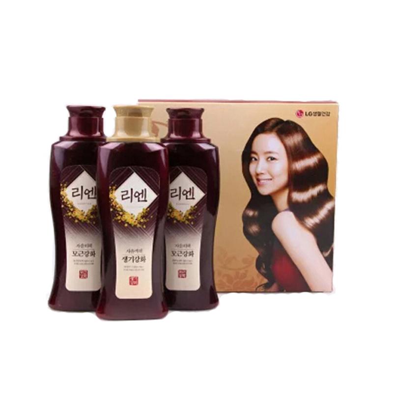 韩国 LG 秘策洗护套装洗发水200ml/瓶*2+护发素200ml/瓶