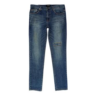 jogunshop JG1001/水洗粗纺破洞牛仔裤