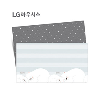 LG hausys 领袖超大型高级地板垫 瞌睡熊图案 (250*140*1.5cm)
