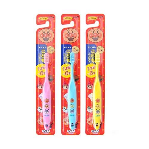 日本 Lion 狮王面包超人1.5-5岁用儿童牙刷1支